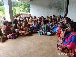 Women entrepreneurship meeting at MCD camp