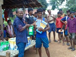 Delivery of Solar Lights in IDP villages